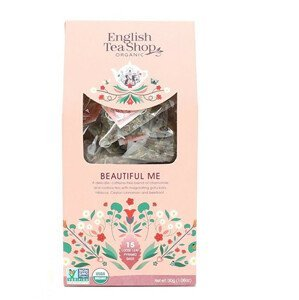 English Tea Shop Pro krásu 15 pyramidek sypaného čaje