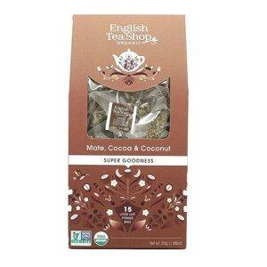 English Tea Shop Maté, kakao a kokos 15 pyramidek sypaného čaje