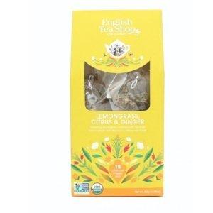 English Tea Shop Citrónová tráva, zázvor & citrusy 15 pyramidek sypaného čaje