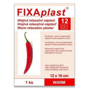 FIXAplast Kapsaicínová hřejivá náplast WARM 12 x 16 cm 1 ks