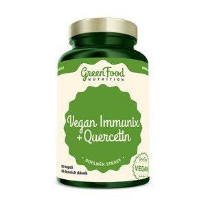 GreenFood Nutrition Vegan Immunix + Quercetin 60 kapslí