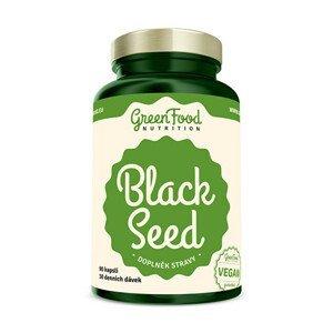 GreenFood Nutrition Black Seed - Černý kmín 90 kapslí