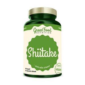 GreenFood Nutrition Shiitake extract 90 kapslí
