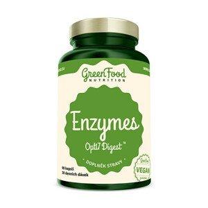 GreenFood Nutrition Enzymy Opti7 Digest 90 kapslí