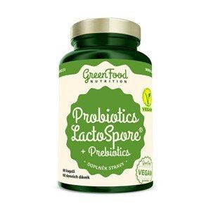 GreenFood Nutrition Probiotika LactoSpore® + Prebiotics 60 kapslí