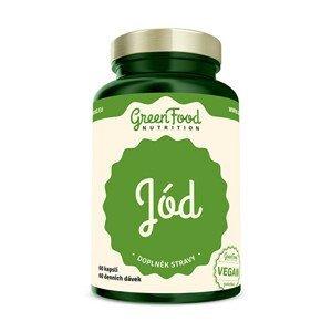 GreenFood Nutrition Jód 60 kapslí