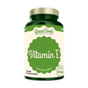 GreenFood Nutrition Vitamín E 60 kapslí