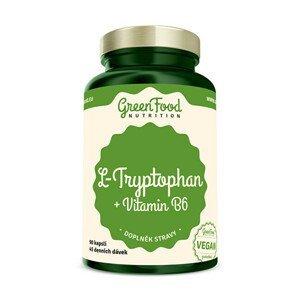 GreenFood Nutrition L-Tryptophan 90 kapslí