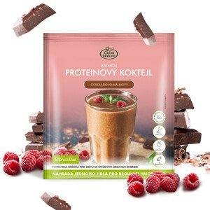 Good Nature Proteinový čokoládovo-malinový koktejl na hubnutí 60 g