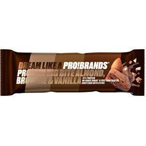 PRO!BRANDS PROTEIN BIG BITE 45 g - mandlové brownie s vanilkou
