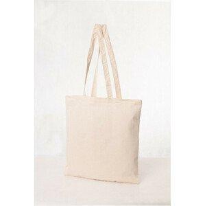 KPPS Bavlněná taška 16 l - dlouhé ručky krémová