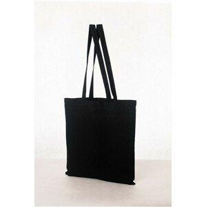KPPS Bavlněná taška 16 l - dlouhé ručky černá