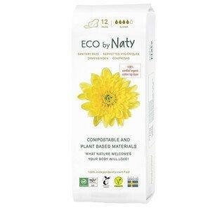 Eco by Naty Dámské vložky ECO by Naty - super 12 ks