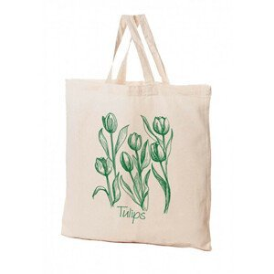 KPPS Přírodní bavlněná taška 16 l Tulipán