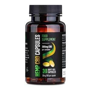 Reakiro Reakiro CBD Gelové kapsle, 300 mg CBD, 30 ks