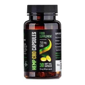 Reakiro Reakiro CBD Gelové kapsle, 750 mg CBD, 30 ks