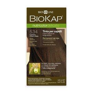 Biokap NUTRICOLOR DELICATO - Barva na vlasy - 5.34 Medová kaštanová 140 ml