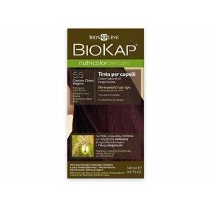 Biokap NUTRICOLOR DELICATO - Barva na vlasy - 5.50 Hnědá - světlý mahagon 140 ml