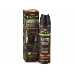 Biokap Nutricolor Delicato Spray Touch Up - Hnědá světlá - 75 ml