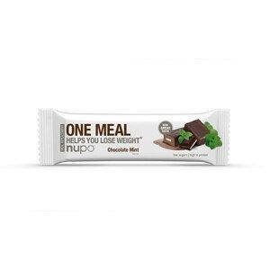 NUPO ONE MEAL tyčinka Čokoláda s mátou 60 g