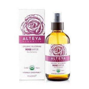 Alteya organics Růžová voda z růže damašské BIO ve skle 240 ml