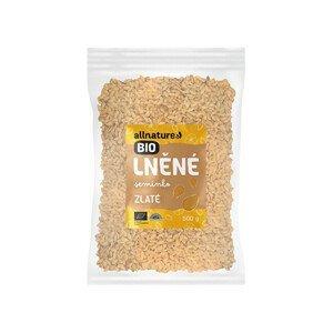 Allnature Lněné semínko zlaté BIO 500 g