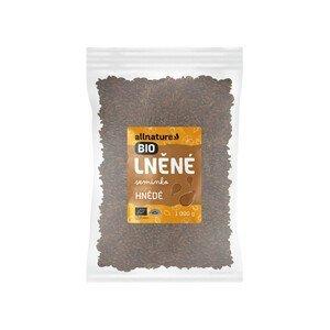 Allnature Lněné semínko hnědé BIO 1 000 g