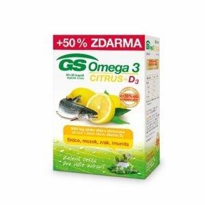 Green-Swan GS Omega 3 Citrus + D3, 60+30 kapslí