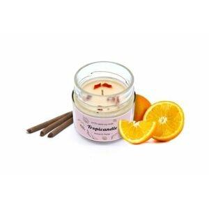 Tropikalia Tropicandle - Incense & Orange
