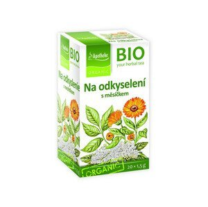 Apotheke Bio čaj na odkyselení s měsíčkem 20x1,5g