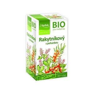 Apotheke Bio Rakytníkový čaj s pohankou 20x1,5g