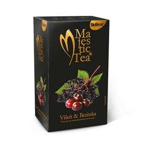 BIOGENA Majestic Tea Višeň & Bezinka 20 x 2,5 g