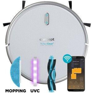 Concept Robotický vysavač s mopem 3 v 1 Perfect Clean Gyro Defender UVC VR2020