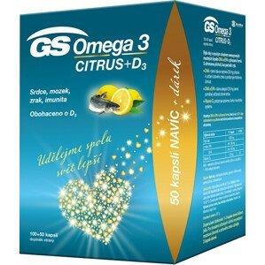 Green-Swan GS Omega 3 Citrus + D 100+50 kapslí DÁREK 2021