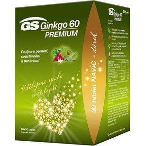 Green-Swan GS Ginkgo 60 Premium 60+30 tablet DÁREK 2021