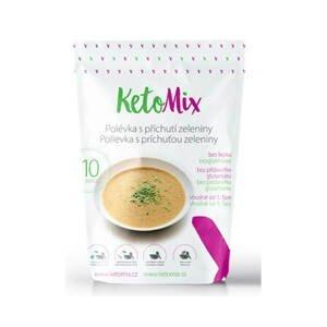 KetoMix Proteinová polévka 250 g (10 porcí) - s příchutí zeleniny