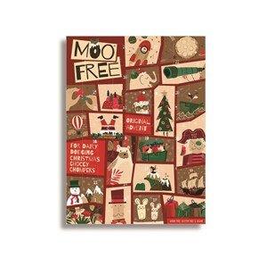 Moo-Free Čokoládový adventní kalendář 70 g