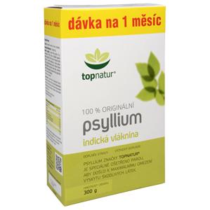 Topnatur Psyllium 300 g - SLEVA - POMAČKANÁ KRABIČKA