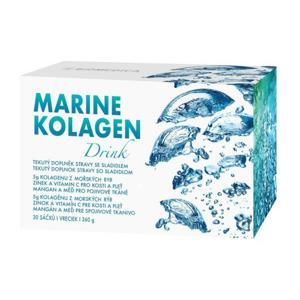 Biomedica Marine kolagen drink 30 sáčků - SLEVA - KRÁTKÁ EXPIRACE 1.11.2020