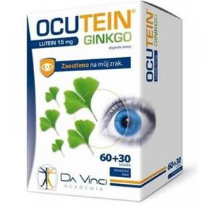 Simply You Ocutein Ginkgo 45 mg + Lutein 15 mg Da Vinci 60 + 30 tobolek - SLEVA - POŠKOZENÁ KRABIČKA