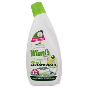 Winni´s Gel Lavastoviglie mycí gel do myčky na nádobí s vůní citrusů 750 ml - SLEVA - poškozená etiketa