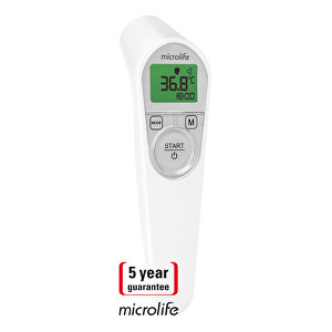 Microlife Teploměr NC 200 digitální bezkontaktní - SLEVA - rozbaleno, odzkoušeno