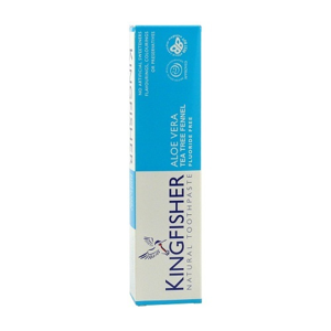 Kingfisher Zubní pasta Kingfisher Aloe, Tea tree & Fenykl 100 ml - SLEVA - POŠKOZENÁ KRABIČKA