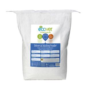 Ecover Koncentrovaný prací prášek na barevné i bílé prádlo 7,5 kg - SLEVA - poškozená etiketa, znečištěný obal