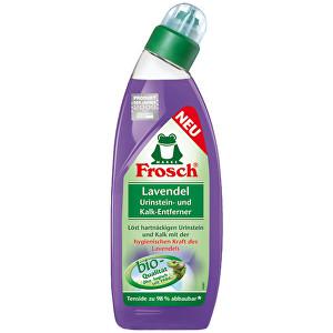 Frosch Levandulový WC gel 750 ml - SLEVA- POŠKOZENÁ ETIKETA