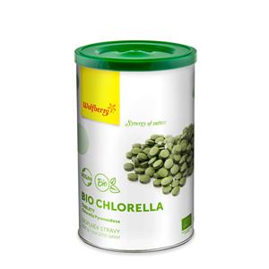 Wolfberry Chlorella BIO tablety 450 tbl. - SLEVA - POŠKOZENÁ KRABIČKA