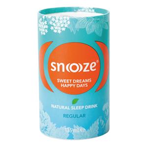 SNOOZE Snoooze Regular 135 ml - bylinný přípravek ke zkvalitnění spánku - SLEVA - POMAČKANÝ OBAL
