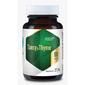 Hepatica Tansy & Thyme 90 kapslí - SLEVA - KRÁTKÁ EXPIRACE - 31.8.2020