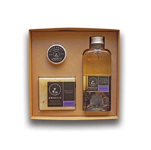Angelic Dárková krabička Angelic tělové olejové cuvée Levandule - SLEVA - bez krabičky