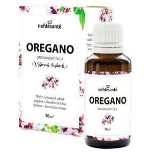 Nef de Santé OREGANO Oreganový olej 30 ml - SLEVA - POŠKOZENÝ OBAL